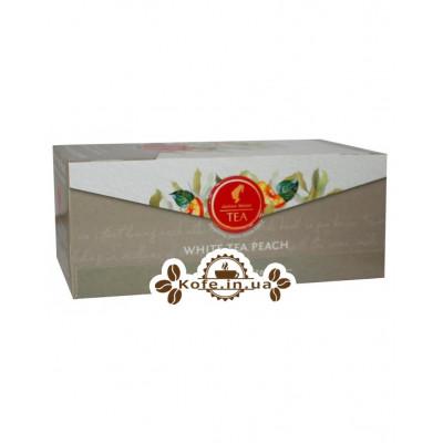 Чай Julius Meinl White Tea Peach Персик 25 x 1,75 г (9000403885984)