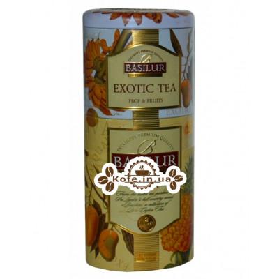 Чай BASILUR Exotic Tea Uva Екзотичний Ува - Квіти і Фрукти Цейлону 125 г ж / б (4792252201194)