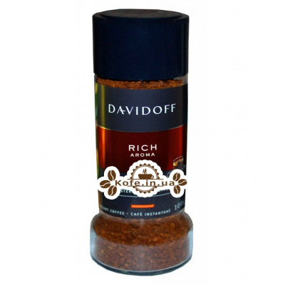Кава Davidoff Cafe Rich Aroma розчинна 100 г ст. б. (4006067084225)