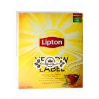 Чай LIPTON Yellow Label Чорний 100 x 2 г (4823084200014)