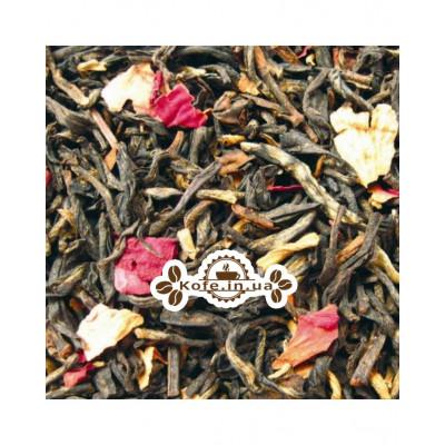 Черный с Розой черный ароматизированный чай Чайна Країна