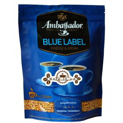 Кава Ambassador Blue Label розчинна 120 г економ.пак. (8719325127485)