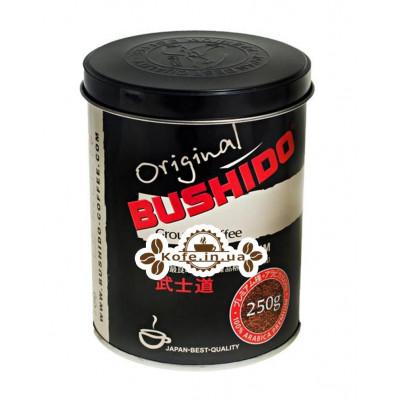 Кофе Bushido Original молотый 250 г ж/б