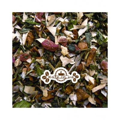 Полуниця з М'ятою трав'яний чай Чайна Країна
