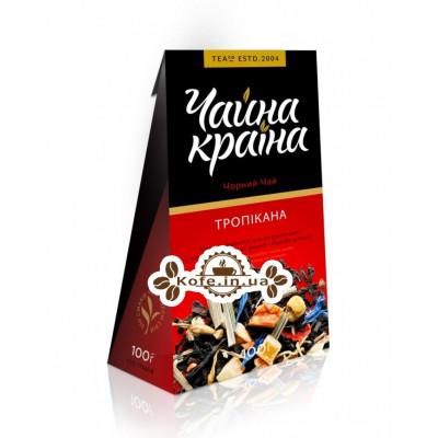 Тропікана чорний ароматизований чай Чайна Країна 100 г к / п