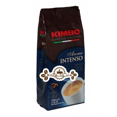 Кава KIMBO Aroma Intenso зернова 1 кг (8002200109080)