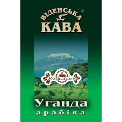 Кофе Віденська Кава Арабика Уганда Бугиссу АА зерновой 500 г