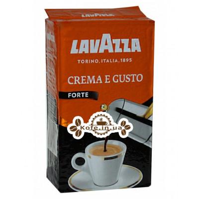 Кофе Lavazza Crema e Gusto Forte молотый 250 г (8000070038417)