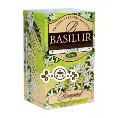 Чай BASILUR Jacmine Жасмин - Букет 20 х 2 г (4792252927216)