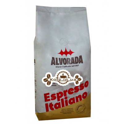 Кофе ALVORADA Espresso Italiano зерновой 1 кг