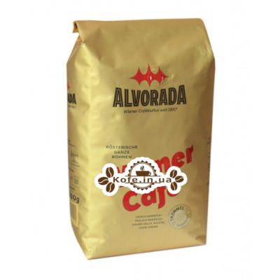 Кава ALVORADA Wiener Kaffee зернова 1 кг (9002517105101)