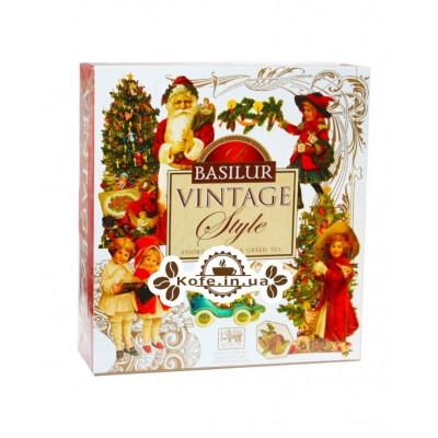 Чай BASILUR Assorted Vintage Асорті - Вінтаж 40 х 2 г (4792252934030)