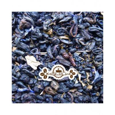 Черничный с Ароматом Йогурта зеленый ароматизированный чай Чайна Країна