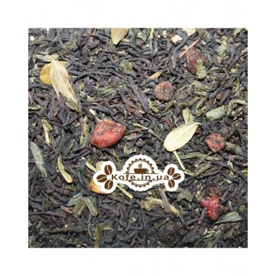 Вишневый Ликер купаж черного и зеленого чая Османтус