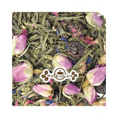 Грешный Танец зеленый ароматизированный чай Світ чаю