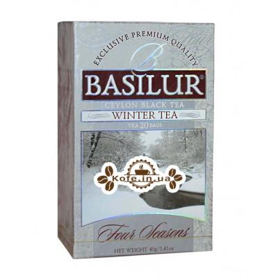Чай BASILUR Winter Tea Зимний - Времена Года 20 х 2 г к/п (4792252002050)