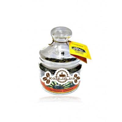 Зелена Равлик зелений класичний чай Чайна Країна 150 г ст. б.