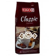 Кофе EKOS Classic Espresso зерновой 1 кг (5609374249081)