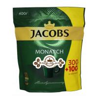 Кава Jacobs Monarch розчинна 300 г + 100 г економ. пак. (4820187043128)