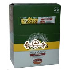 Кофе Jacobs Millicano Americano цельнозерновой растворимый 26 х 2 г (8714599101315)