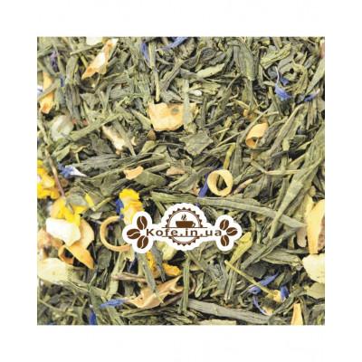 Зелений Лимонник зелений ароматизований чай Світ чаю