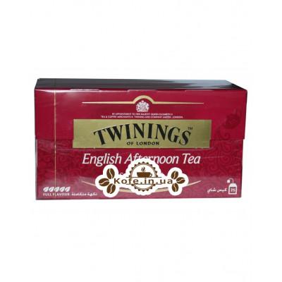 Чай TWININGS English Afternoon Tea Англійська Ланч 25 х 2 г (070177074609)