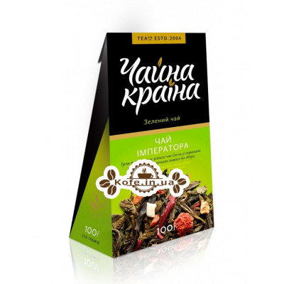 Зелений Чай Імператора зелений ароматизований чай Чайна Країна 100 г к / п