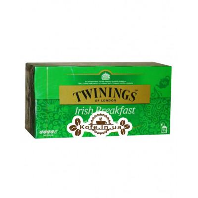 Чай TWININGS Irish Breakfast Ирландский завтрак 25 х 2 г