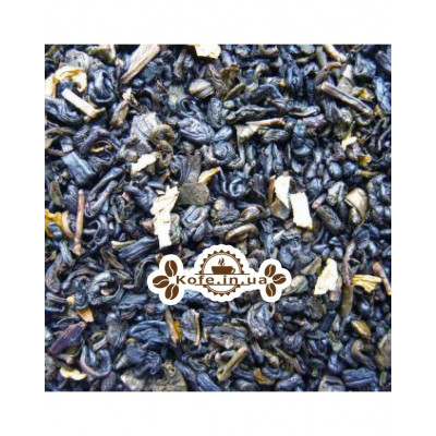 Зелений з Ароматом Сливок зелений ароматизований чай Чайна Країна