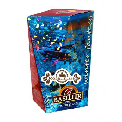 Чай BASILUR Winter Flakes Зимова Сніжинка - Зимова Фантазія 85 г к / п (4792252932791)
