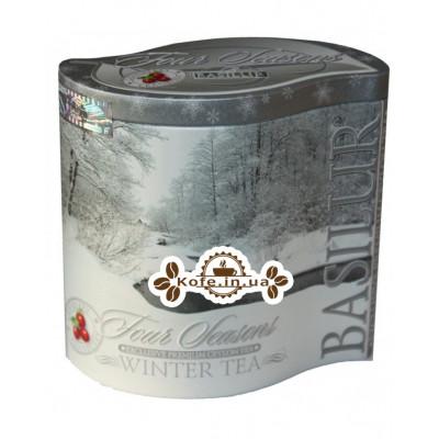 Чай BASILUR Winter Tea Зимовий - Пори Року 100 г ж / б (4792252929197)