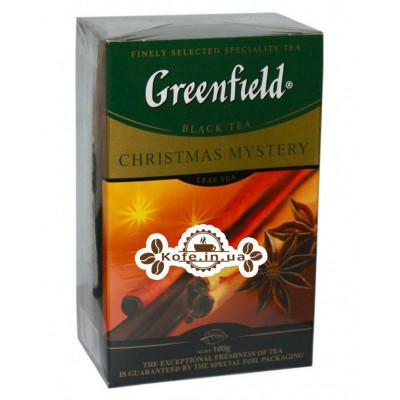 Чай Greenfield Christmas Mystery Чорний зі Cпец 100 г к / п (4823096802442)