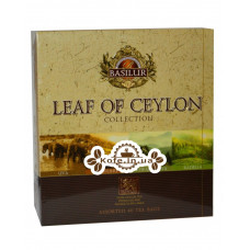Чай BASILUR Assorted Pure Ceylon Tea Ассорти - Лист Цейлона 40 х 2 г (4792252934702)