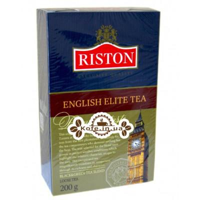 Чай Riston English Elite - Ристон Елітний Англійська 200 г (4792156000398)
