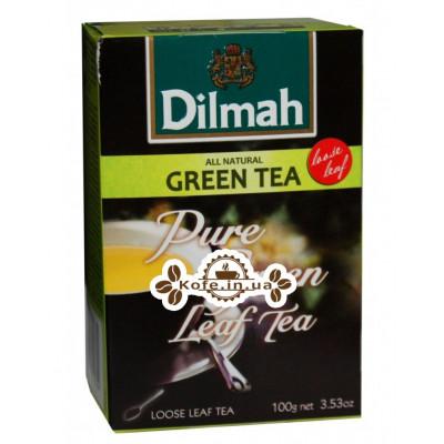 Чай Dilmah Pure Green Tea Зеленый Чай 100 г (9312631124354)