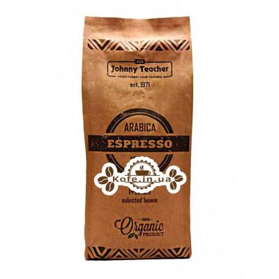 Кава Johnny Teacher Espresso зернова 1 кг