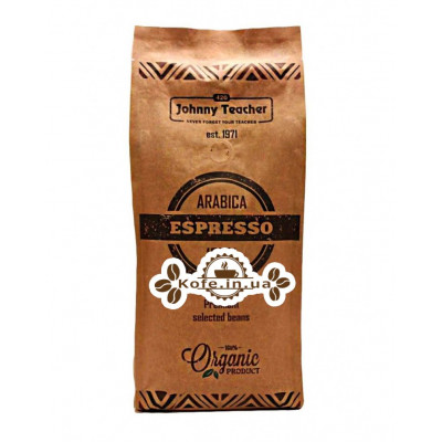 Кава Johnny Teacher Espresso Dark зернова 500 г
