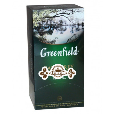 Чай Greenfield Earl Grey Fantasy Эрл Грей 25 х 2 г (4823096800981)