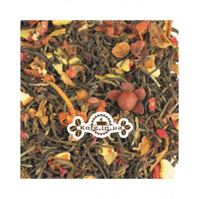 Соловей Разбойник зеленый ароматизированный чай Світ чаю