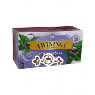 Чай TWININGS Pure Verbena Вербена 25 х 1.5 г (070177273330)