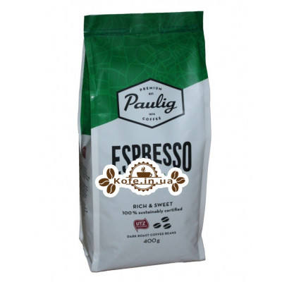 Кава Paulig Espresso Originale зернова 400 г (6411300169801)