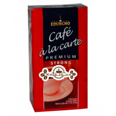 Кофе EDUSCHO Cafe a la Carte Premium Strong молотый 500 г (40060670883422)