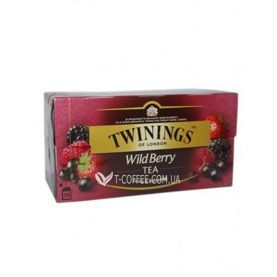 Чай TWININGS Wild Berry Дикие Ягоды 25 х 2 г (070177084806)