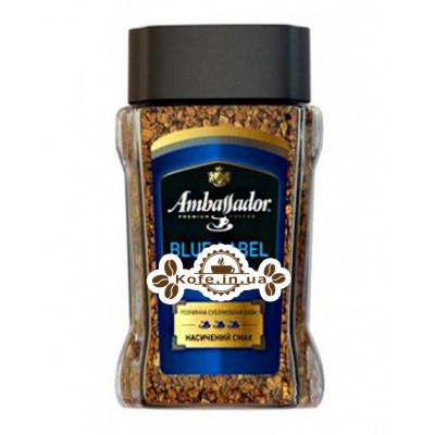 Кофе Ambassador Blue Label растворимый 190 г ст. б. (7612654000676)