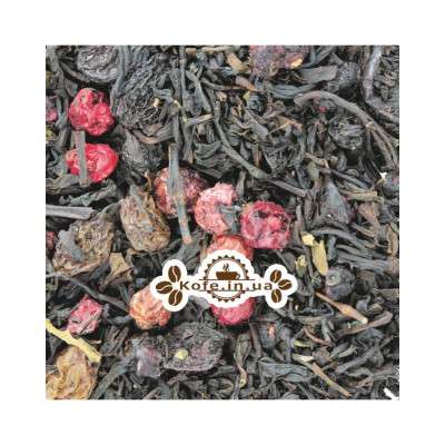 Сильвия черный ароматизированный чай Світ чаю