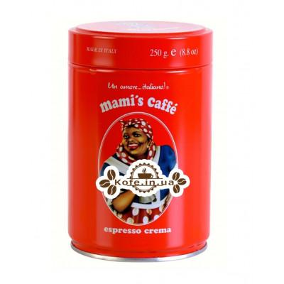 Кофе Mami's Espresso Crema 250 г зерновой ж\б