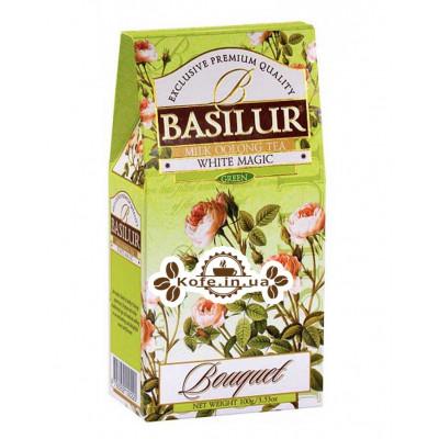 Чай BASILUR White Magic Белое Волшебство - Букет 100 г к/п (4792252100220)