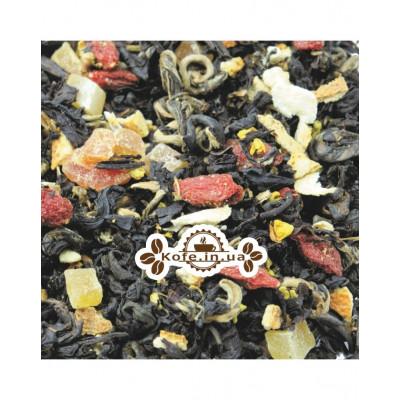 Баба-Яга чорний ароматизований чай Світ чаю