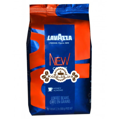 Кава Lavazza New Coffee зернова 1 кг (2000000130118)