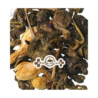 Зелена Равлик з Ароматом Молока зелений ароматизований чай Країна Чаювання 100 г ф / п